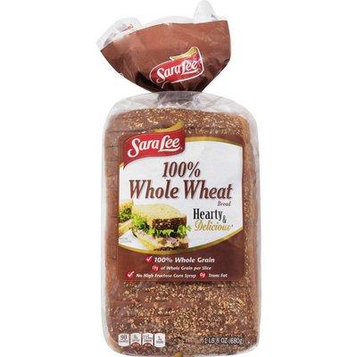 Sara Lee 100% Whole Wheat Bakery Bread