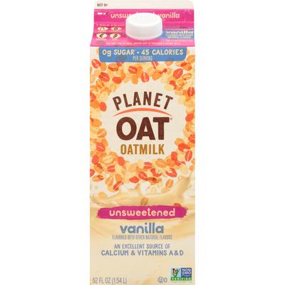 Planet Oat Unsweetened Vanilla Oatmilk