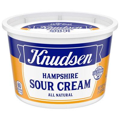 Knudsen Hampshire 100% Natural Sour Cream