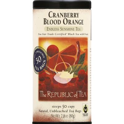 The Republic of Tea Cranberry Blood Orange Endless Sunshine Tea