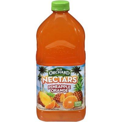 Old Orchard Nectars Pineapple Orange Bottled Juice Cocktail