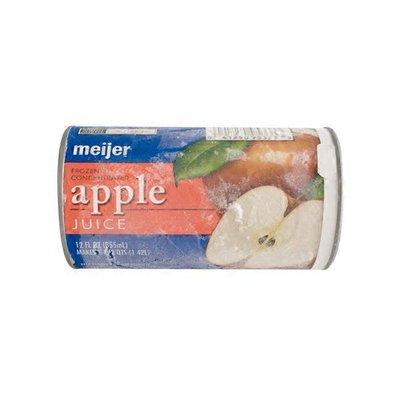 Meijer apple JUICE FROZEN CONCENTRATED
