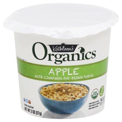 Kathleen's Oats, Organics, Apple, with Cinnamon and Brown Sugar
