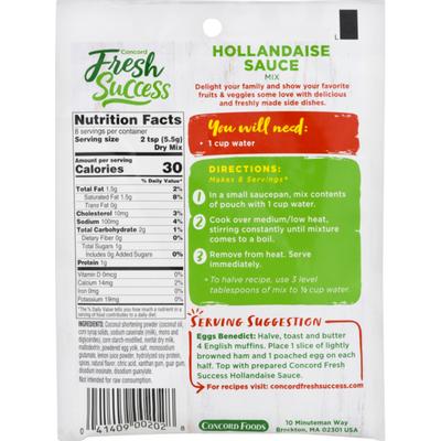 Concord Foods Sauce Mix, Hollandaise, Original