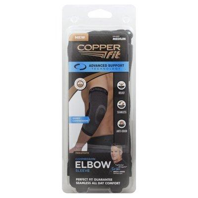 Copper Fit Elbow Sleeve, Compression, Unisex, Medium