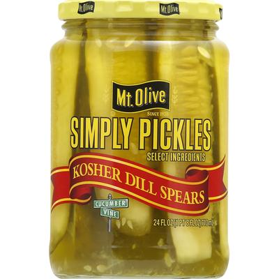 Mt. Olive Kosher Dill Spears Pickles