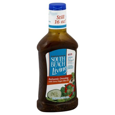 South Beach Living Balsamic Dressing with Extra Virgin Olive Oil