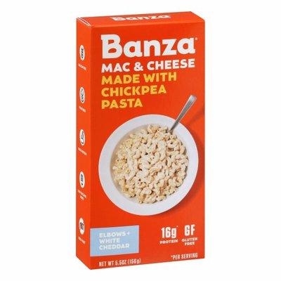 Banza Mac & Cheese, Elbows + White Cheddar