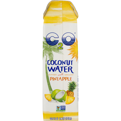C2o Coconut Water With Pineapple