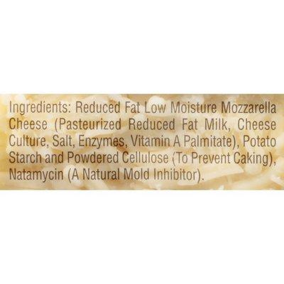 Sargento® Reduced Fat Mozzarella Shredded Cheese
