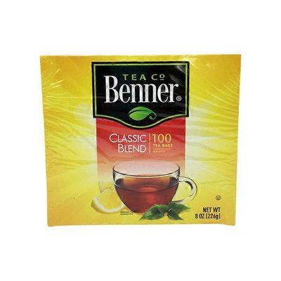 Benner Individually Wrapped Tea