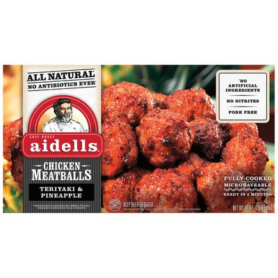 Aidells Teriyaki & Pineapple Chicken Meatballs