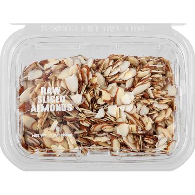 Almonds, Raw, Sliced