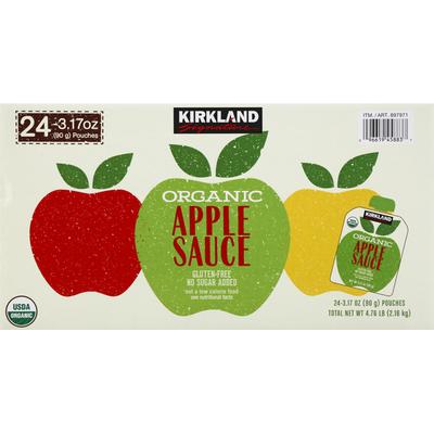 Kirkland Signature Sauce, Apple, Organic