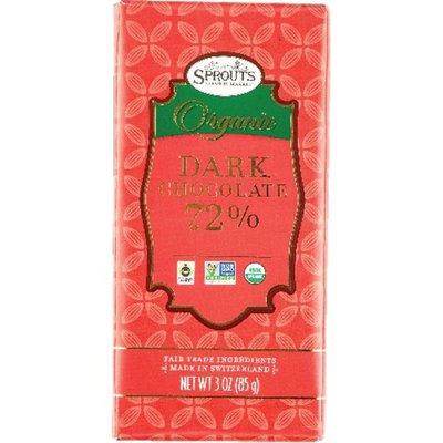 Sprouts 72% Cocoa Dark Chocolate Bar
