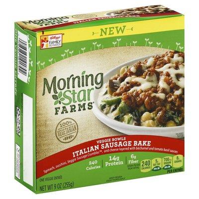 Morning Star Farms Italian Veggie Sausage Bake Veggie Bowl