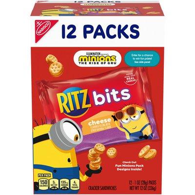 Ritz Bits Cheese Cracker Sandwiches - Snack Pack