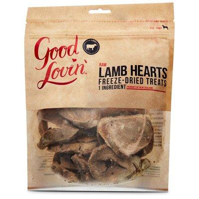 Good Lovin' Raw Lamb Hearts Freeze Dried Dog Treats