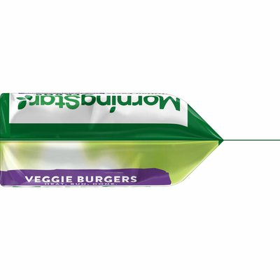 Morning Star Farms Veggie Burgers, Plant Based Protein, Frozen Meal, Grillers Original