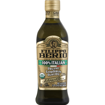 Filippo Berio Olive Oil, Organic, Extra Virgin