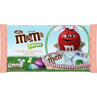 M&M's Easter Candy Fun Size Milk Chocolate Candy