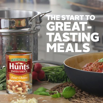 Hunt's Pasta Sauce Four Cheese