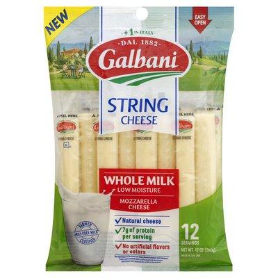 Galbani Galbani Whole Milk Mozzarella String Cheese