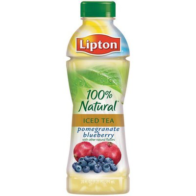 Lipton with Pomegranate Blueberry All Natural Iced Tea