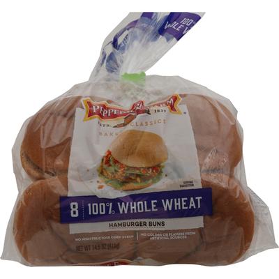 Pepperidge Farm®  Bakery Classics 100% Whole Wheat Hamburger Buns