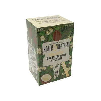 Heath & Heather Organic Green Tea With Coconut