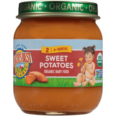 Earth's Best Organic Stage 2 Sweet Potatoes