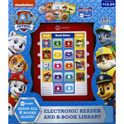 Electronic Reader and 8-Book Library