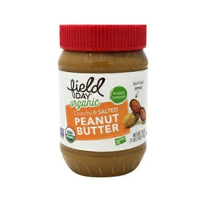 Field Day Organic Crunchy Peanut Butter