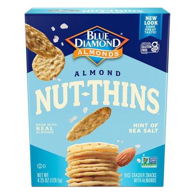 Blue Diamond Growers Crackers, Hint of Sea Salt