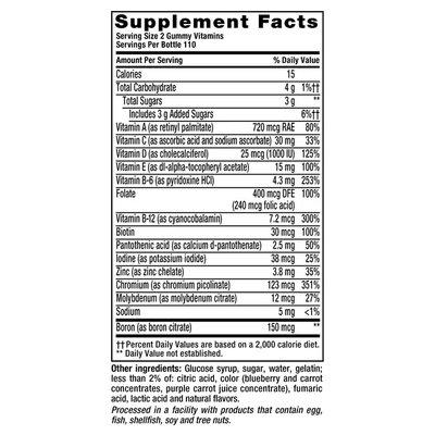 VitaFusion Men's Powerful Multi Complete Multivitamin Gummies Dietary Supplement