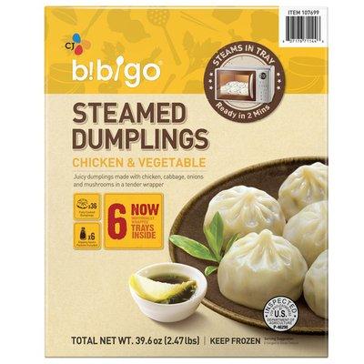 Bibigo Steamed Chicken & Veggie Dumplings
