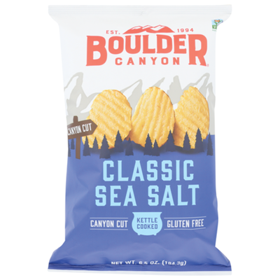 Boulder Canyon Potato Chips, Kettle Cooked, Totally Natural