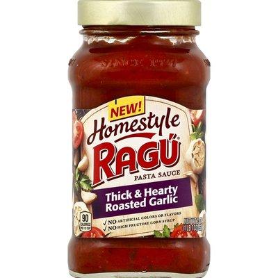 Ragu Homestyle Pasta Sauce Thick & Hearty Roasted Garlic