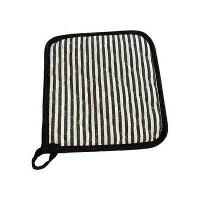 Now Designs Narrow Black Stripe Superior Potholder