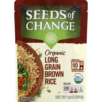 Seeds of Change Brown Rice, Organic, Long Grain
