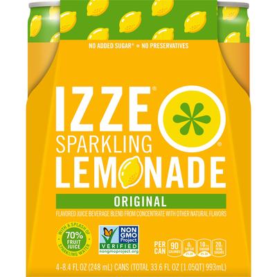 Izze Lemonade Flavored Beverage