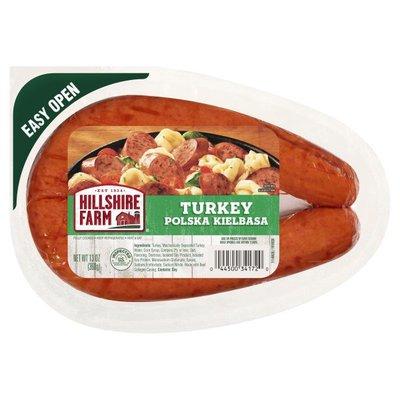 Hillshire Farm Turkey Polska Kielbasa Smoked Sausage