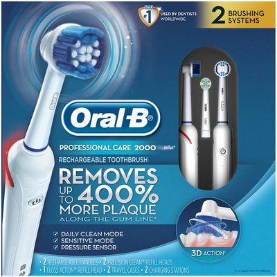 Oral-B 2000 Electric Rechargeable Toothbrush