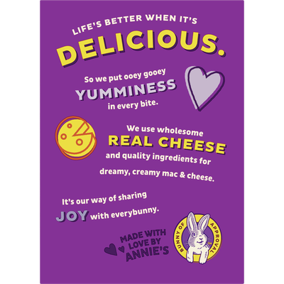 Annie's Shells & White Cheddar Macaroni and Cheese, Family Size