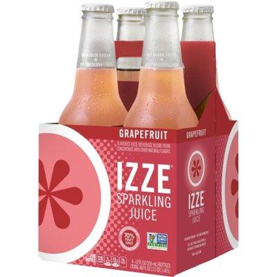 Izze Sparkling Juice, Grapefruit