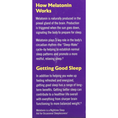 Natrol Advanced Sleep Melatonin Maximum Strength Dietary Supplement