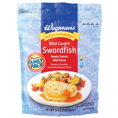 Wegmans Wild Caught Swordfish, FAMILY PACK