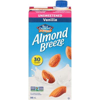 Almond Breeze Unsweetened Vanilla Almond Beverage
