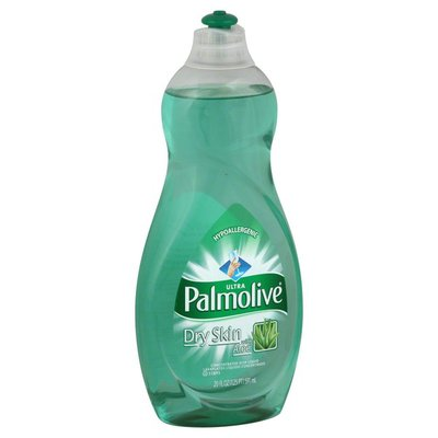 Palmolive Dish Liquid, Concentrated, Dry Skin with Aloe