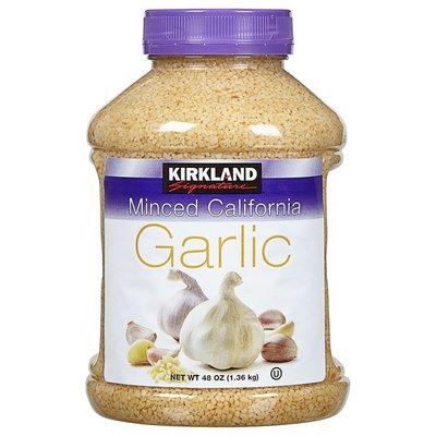 Kirkland Signature Minced Garlic, 48 oz
